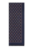 Metallic GG Wool Scarf