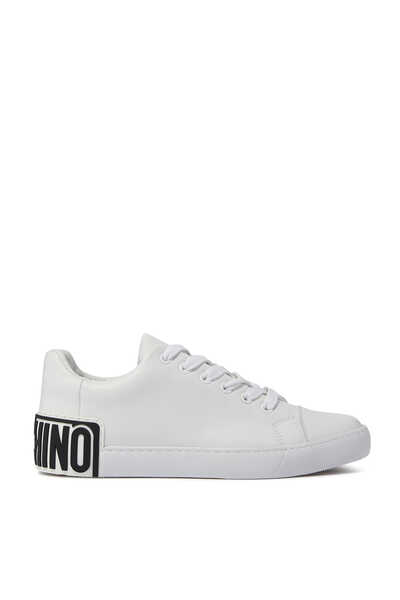 Logo Back Low Top Sneakers