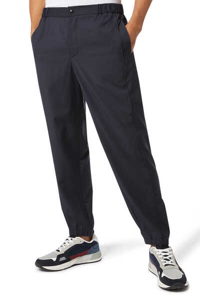 Classic Tapered Wool Pants