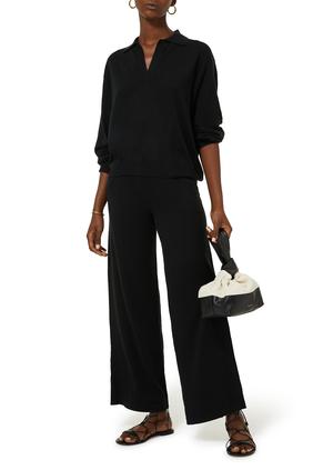 Oxford Cashmere Polo Pullover