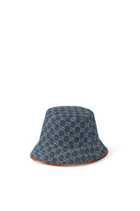 GG Canvas Bucket Hat