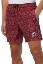 All-Over Print Swim Shorts