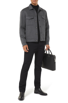 Button Studded Jacket