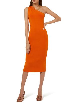 Persephone One-shoulder Dress