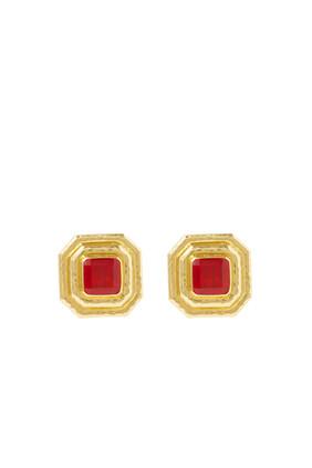 Tiny Citrine Earrings