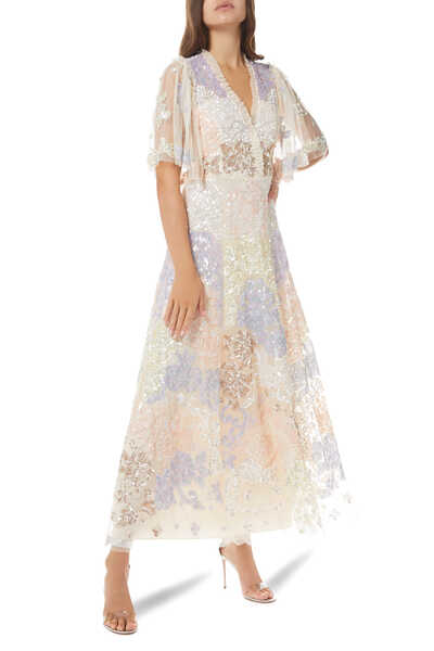 Eliza Sequin Maxi Gown