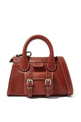 Mini Edith Day Bag In Buffalo Leather