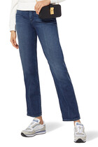 JEANS GIRLFRIEND FIT 11.05OZ STRAIGHT L. MED BLUE WASH