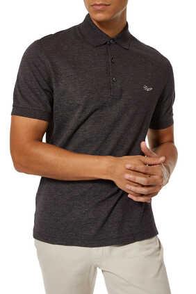 Cotton Short Sleeve Polo Shirt