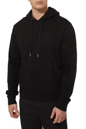 Logo Hoodie in Cotton Fleece