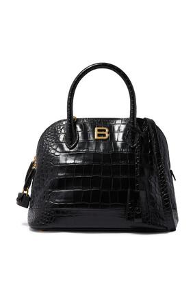 Ville Top Handle Leather Bag
