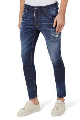Dark Wash Skater Jeans