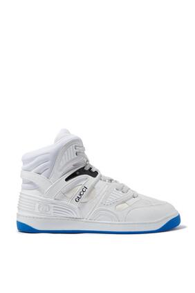 Basket Sneakers with Interlocking G