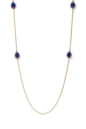 Serpent Bohème Lapis Lazuli Motif Necklace