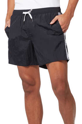 Tape Logo Swim Shorts