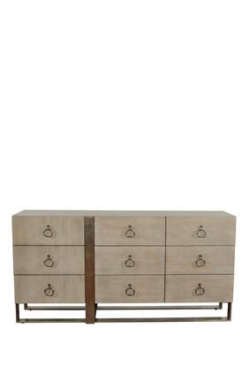 Grey Linea Dresser