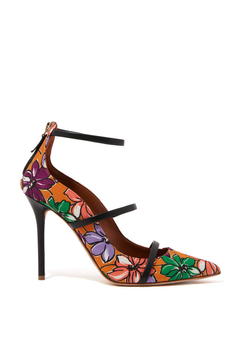 Robyn Floral Canvas Pumps image number 1