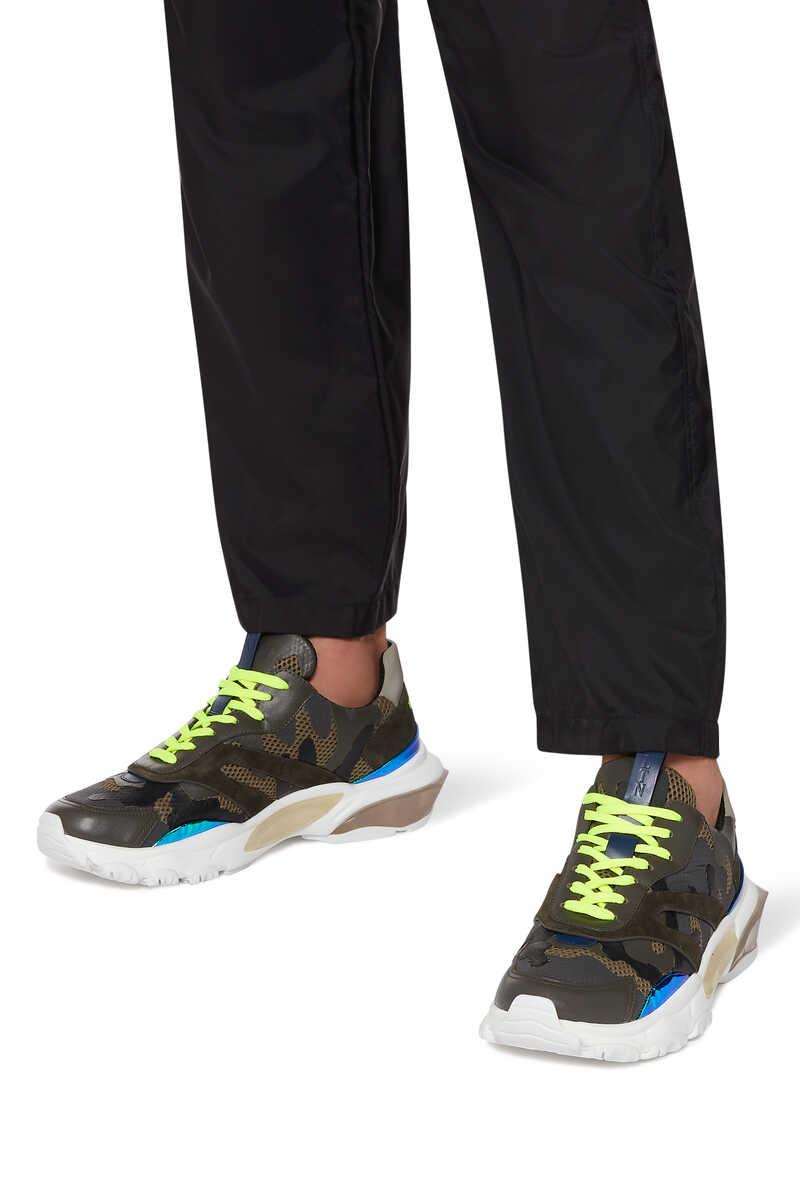 Valentino Garavani Bounce Camouflage Sneakers image number 2