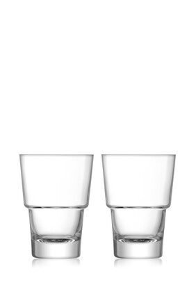 Mixologist Cocktail Tumbler Set of Two