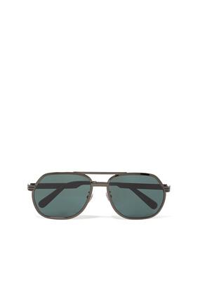 Green Lens Sunglasses