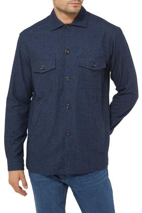 Cashmere Cotton Wool Overshirt