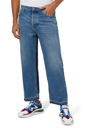 Dual Denim Pants