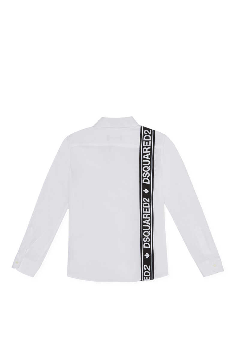 Logo Band Long Sleeve Shirt image number 3