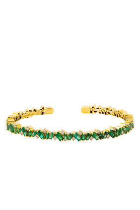 Firework Emerald Frenzy Bangle