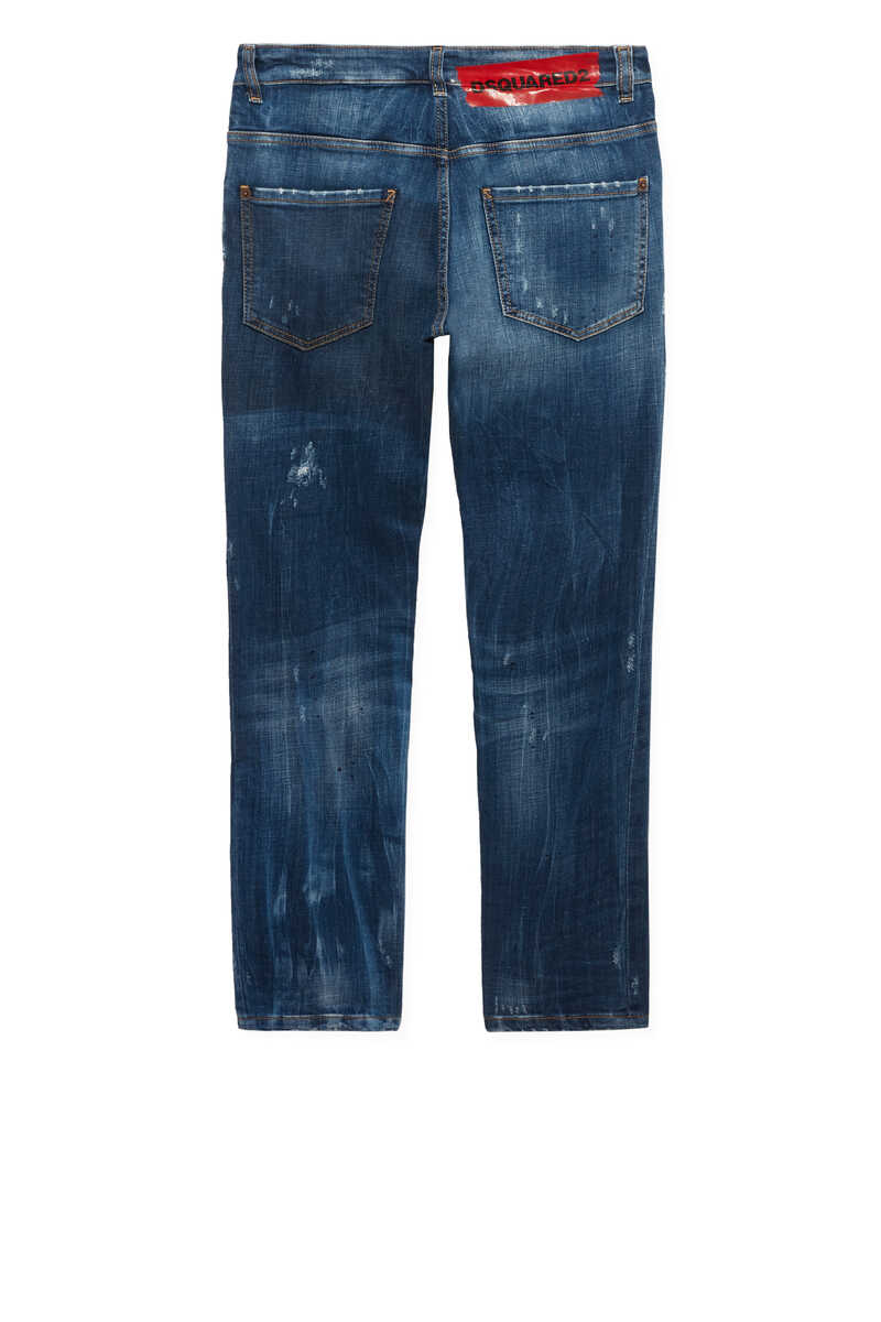 Distressed Regular Fit Jeans image number 3