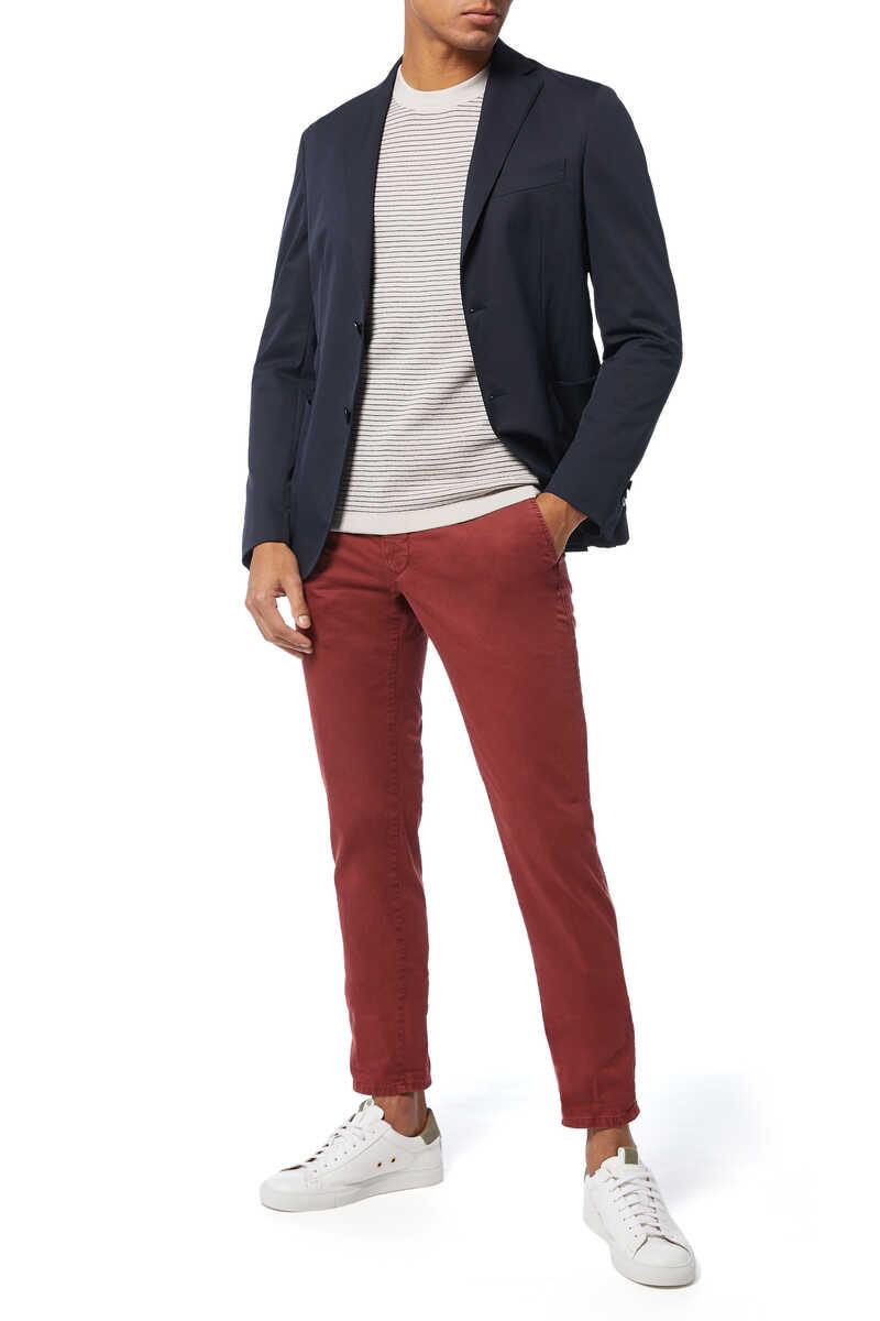 Merino Wool Stripe Sweater image number 2
