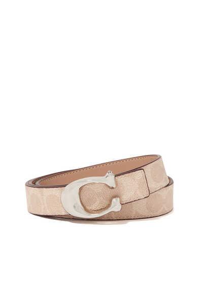Signature Buckle Reversible 25mm Belt