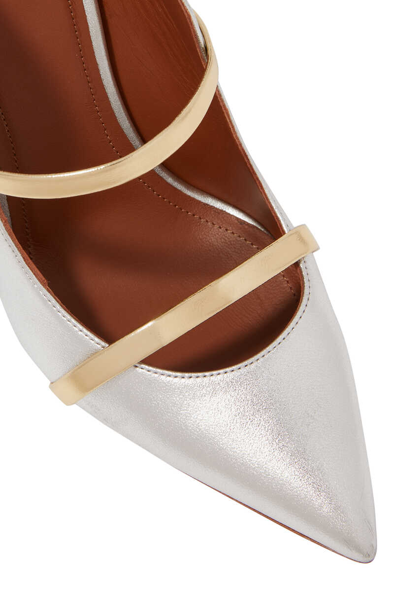 Maureen Metallic 100 Mules image number 4
