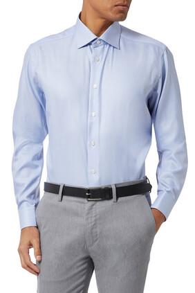 Houndstooth Slim Fit Shirt