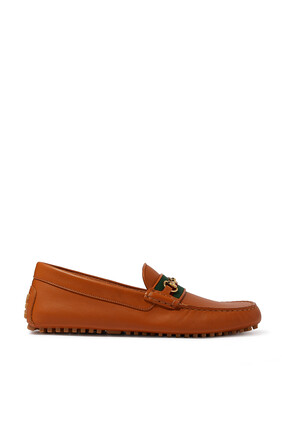 Driver Leather Loafers