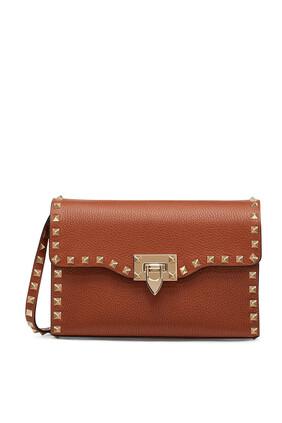 Valentino Garavani Rockstud Leather Crossbody Bag