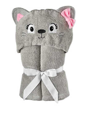 Teddy Two-Sided Hooded Towel