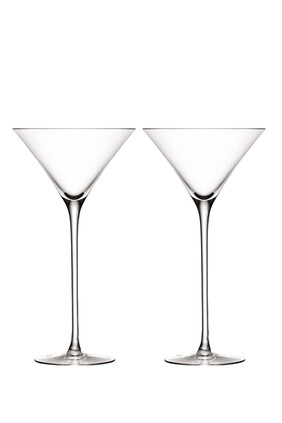 Cocktail Bar Glasses, Set of Two