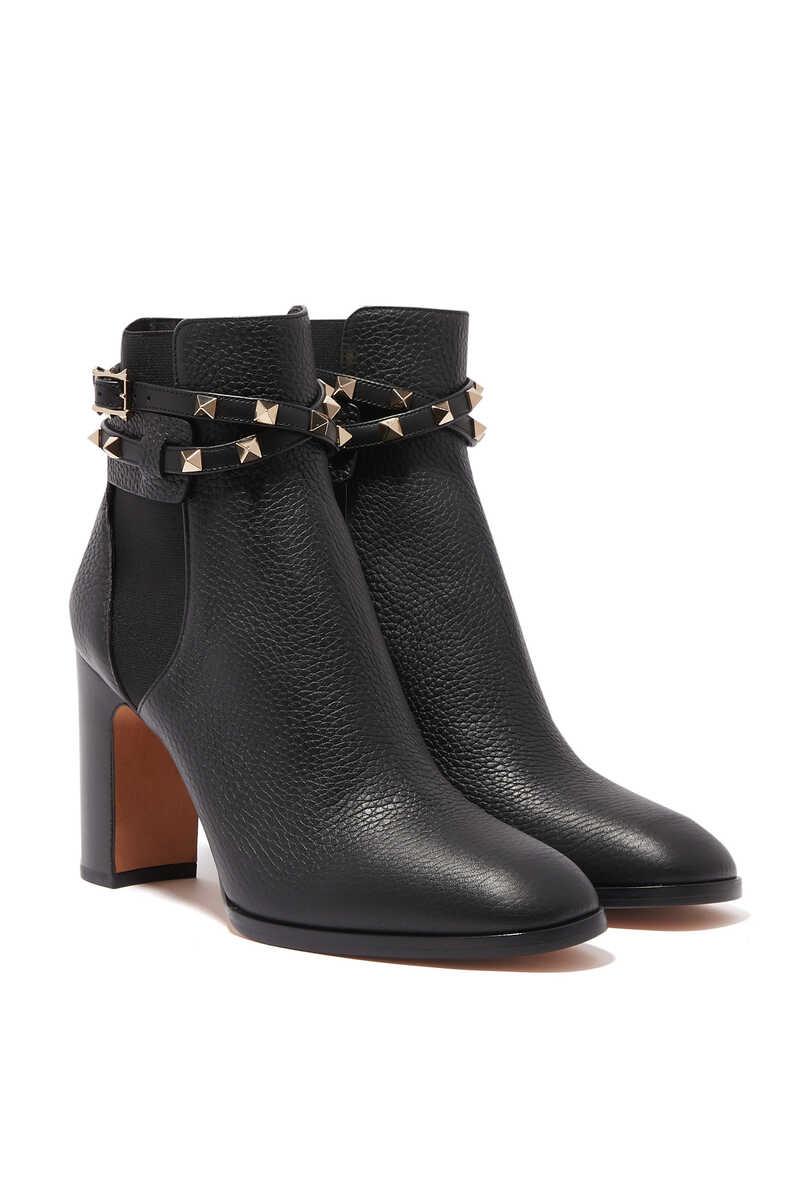 Valentino Garavani Rockstud Leather Boots image number 5