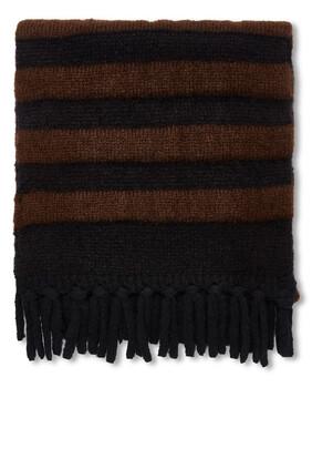 Wool Striped Scarf