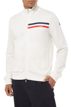 Stripe Logo Jacket
