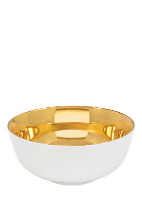 Gold Corn Bowl