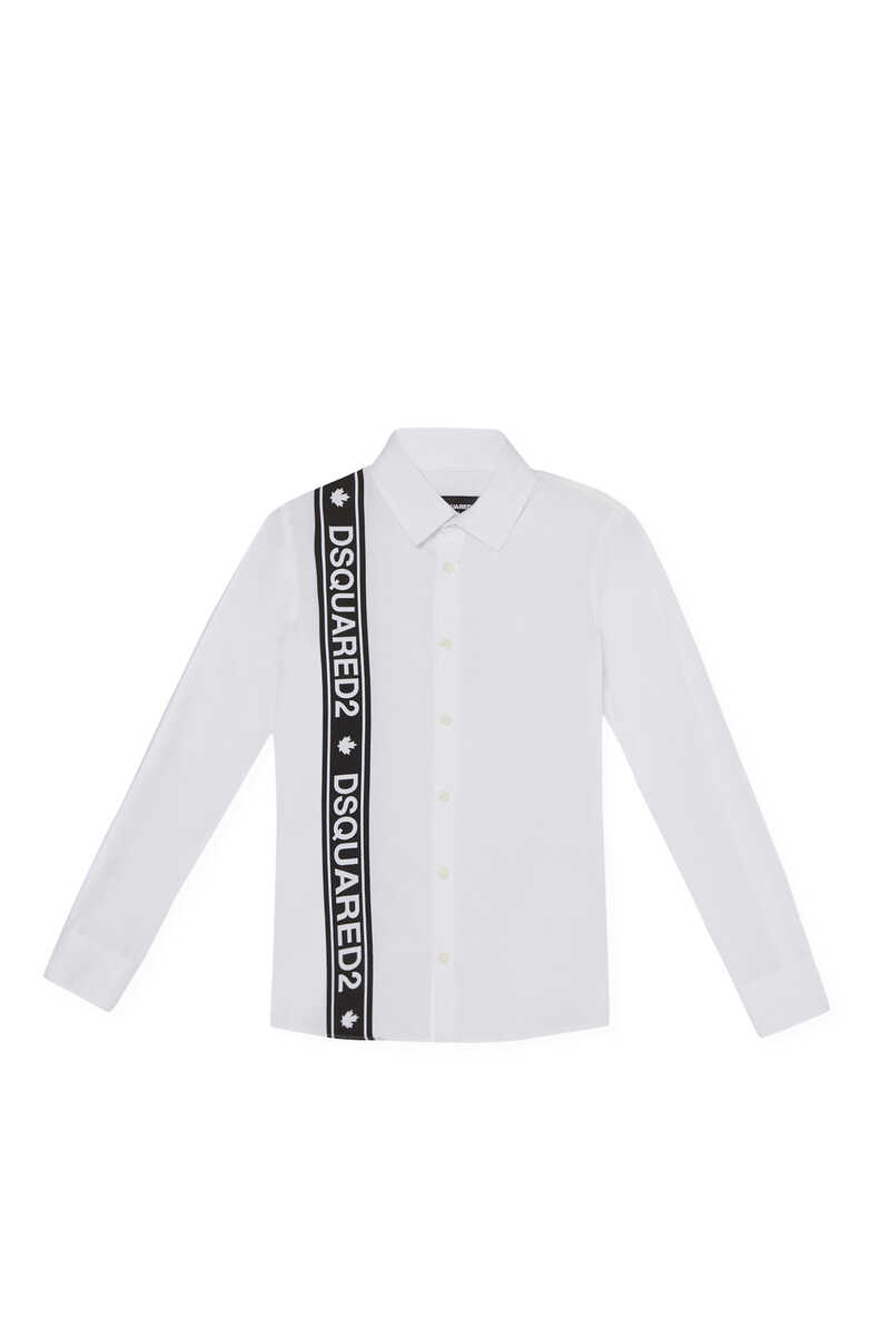 Logo Band Long Sleeve Shirt image number 1