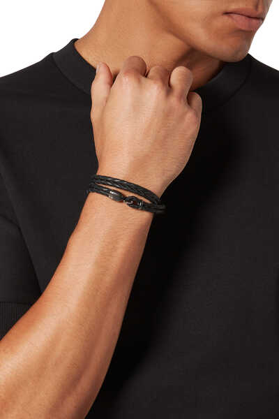 Trice Leather Bracelet