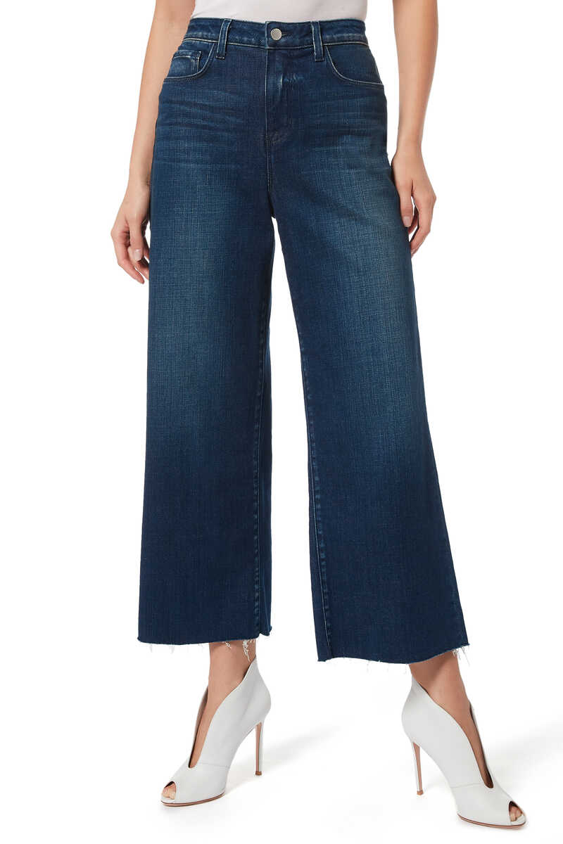 Danica Wide Leg Denim Jeans image number 1