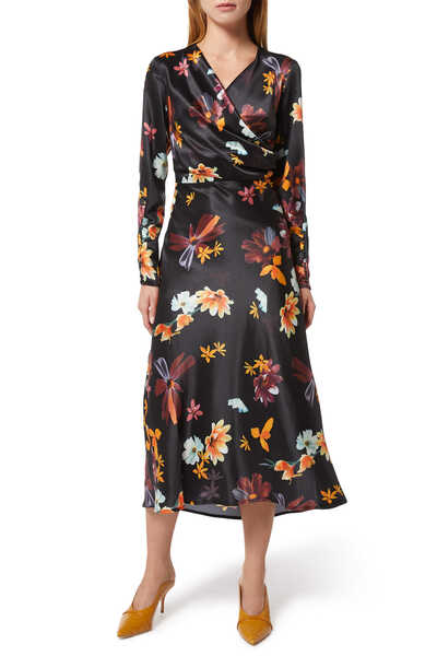 Obsessions Long Sleeved Dress