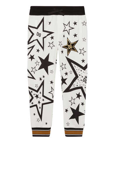 Star Print Millennials Track Pants