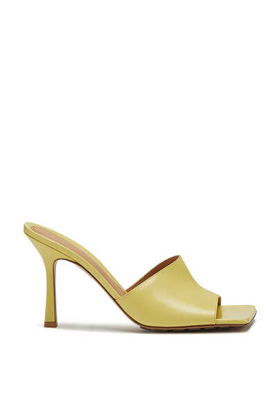 Nappa Leather Stretch Sandals