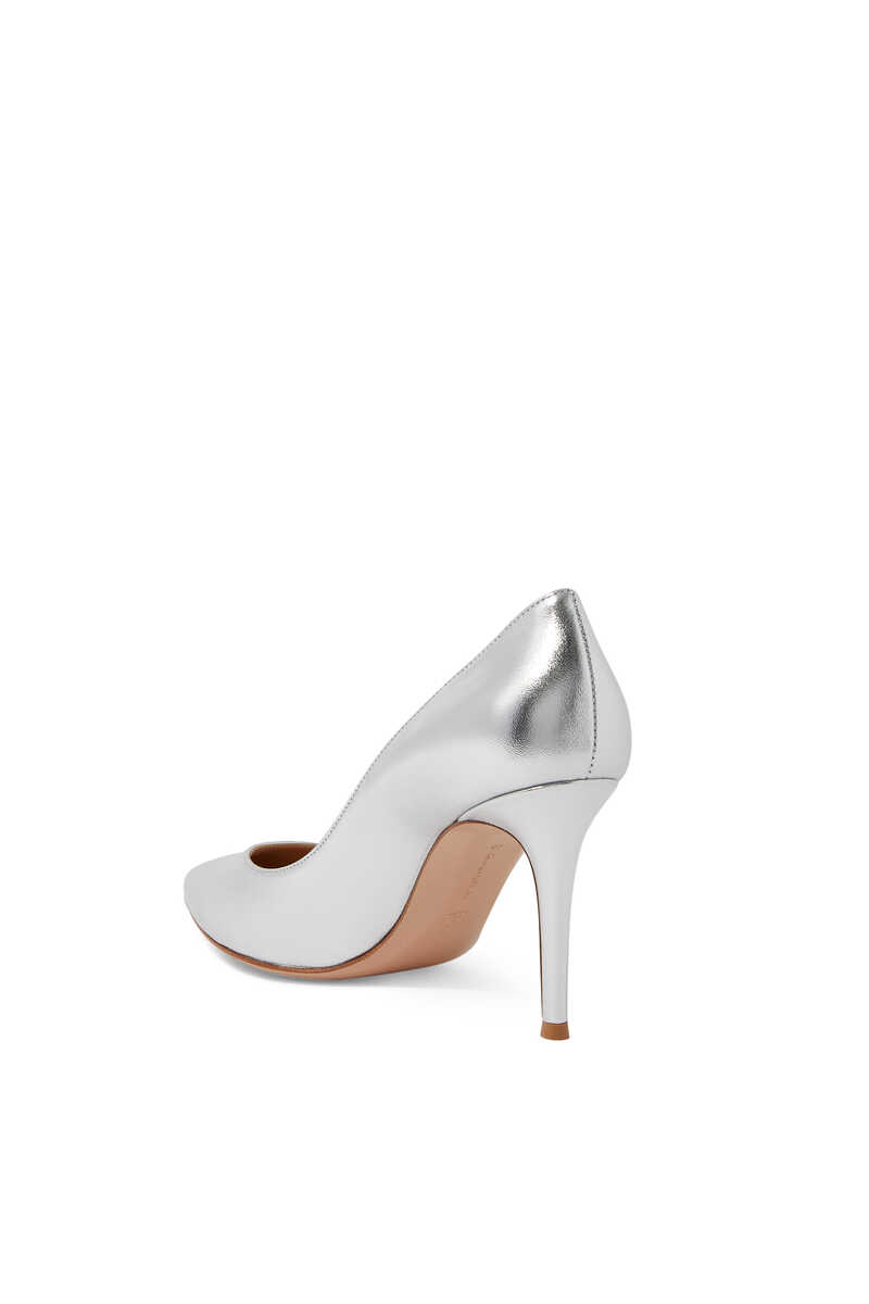 85 Metallic Leather Pumps image number 2