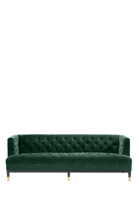Castelle Velvet Sofa