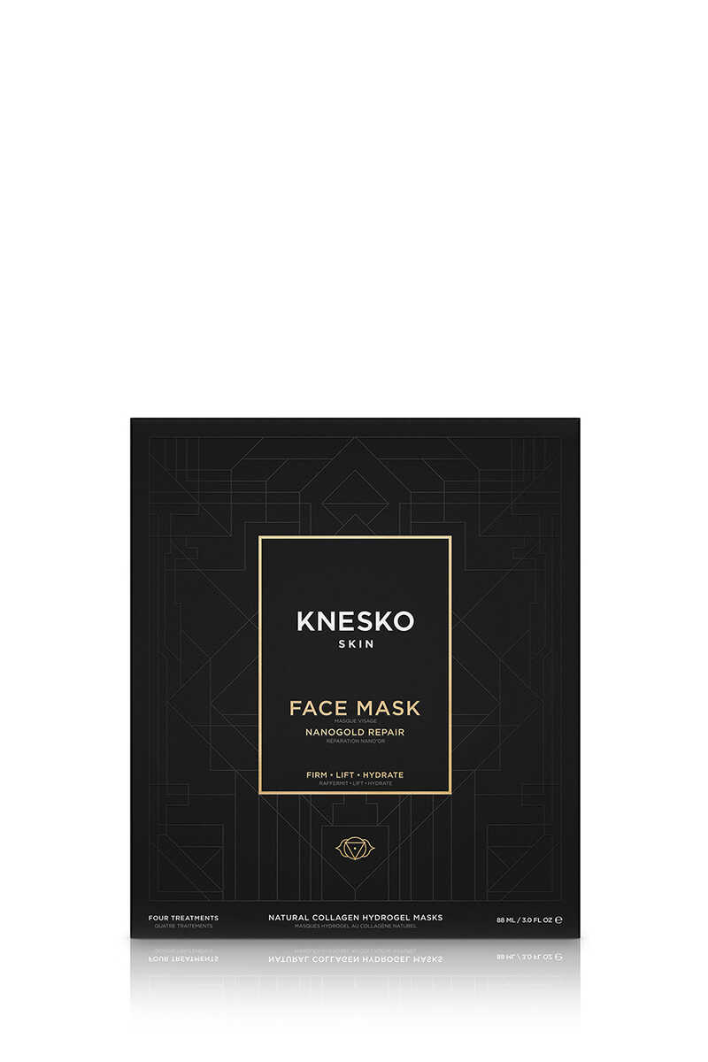 Nanogold Repair Collagen Face Mask (4 Treatments) image number 1